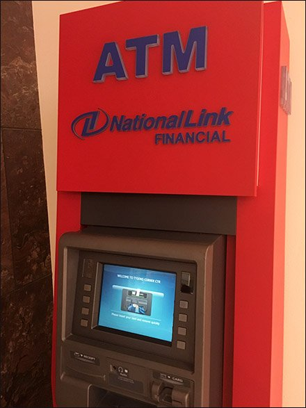 Subdued ATM Sales Pitch At Tysons Mall