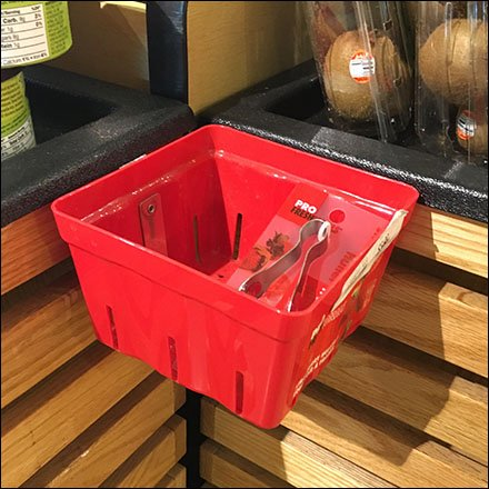 Weis Corner Containment Mini Bulk Bin Feature