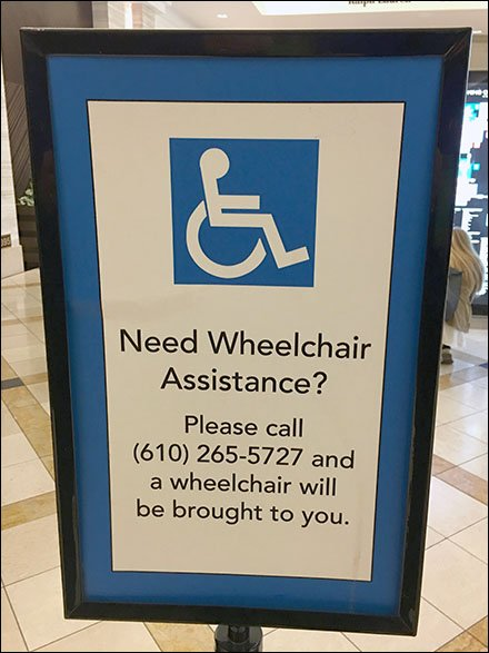 Wheelchair Uber At King Of Prussia Mall