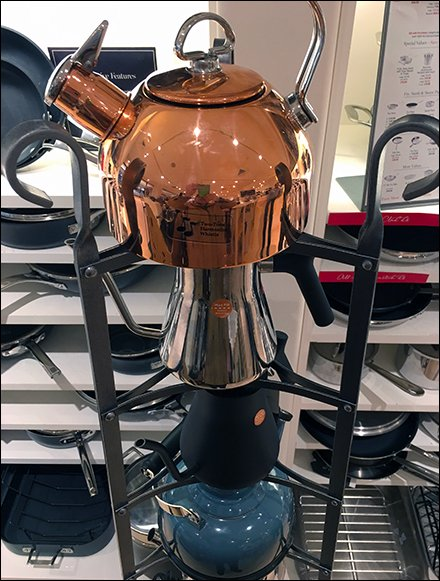 Williams Sonoma Coffe and Tea Kettle Tower 3