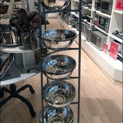 Williams Sonoma Mixing Bowl Tower