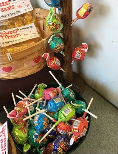 Wood Lollipop Tree For Super Blow Pop