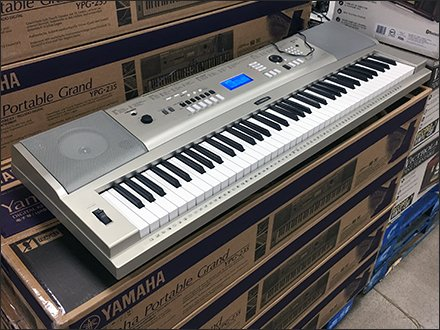 Yamaha Portable Grand Keyboard By The Pallet