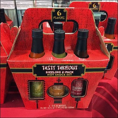 Hot Sauce 6-Pack Spices Up Grab-N-Go Sales