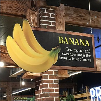 Banana As In-Store Category Definition Destination