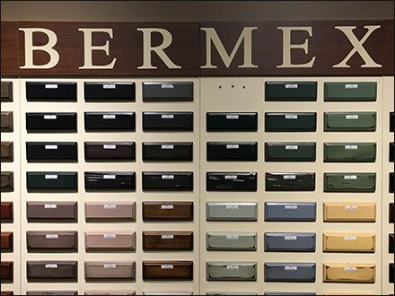 Bermex Wood Finish Sample Swatches