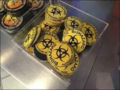 Biohazard Acrylic Bulk Bin 3