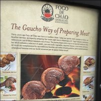Fogo de Chao Brazilian Outdoor Restaurant Menu