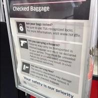 Formal Firearm Warning from the TSA