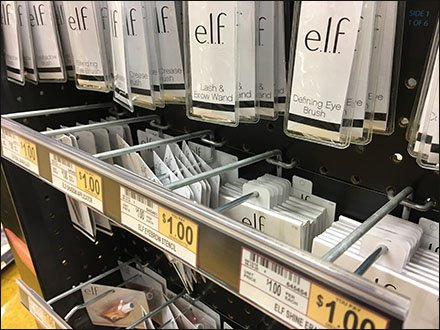Elf Continuous Label Strip For Cosmetics Hook