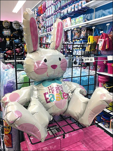Happy Easter Bunny Inflatable 3