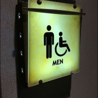 Mohegan Sun Casino Restroom Signs