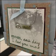 Mother's Day Gift Bag T-Stand For Jewelry