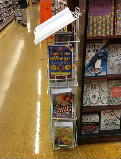 Penguin Book Reading Stand Display Rack