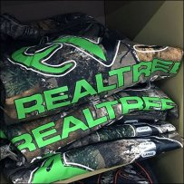 Tractor Supply RealTree Outfitters Corrugated T-Shirt Display