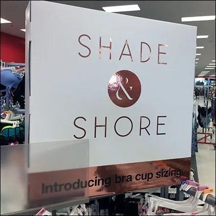 Shade & Shore Brassy Bra Cup Size Branding