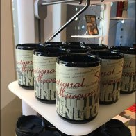 Spy Museum Branded Mug Tower Outfitting