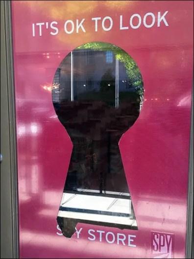 Keyhole Sales Psychology As Window Dressing