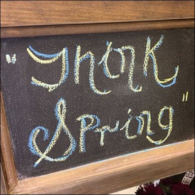 Thonk Spring or Think Spring Chalkboard