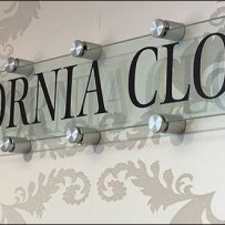 California Closets Branded Sign Standoffs