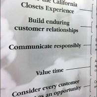 California Closets Mission Statement