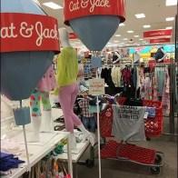 Cat & Jack Hot Air Balloon Merchandising
