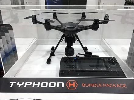 Drone Store Fixtures and Merchandising - Drone Museum Case For Pallet Merchandising