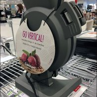 Vertical Standing Room Only Waffle Iron by Cuisinart