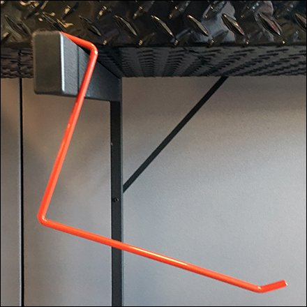 DeeZee Oversize Saddle-Mount All Wire Hook