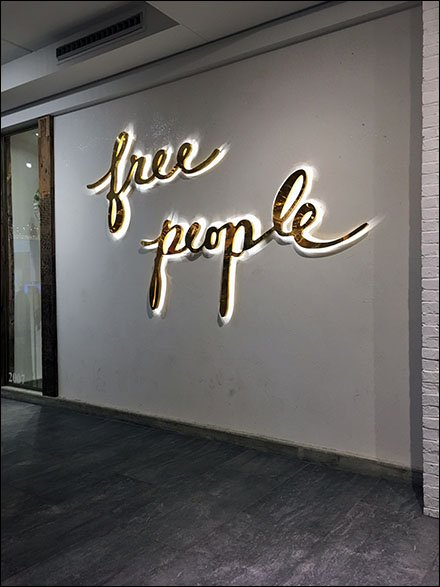 Free People Retail Fixtures