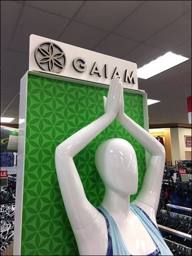 Gaiam Athleisure Yoga Lifestyle Freestanding