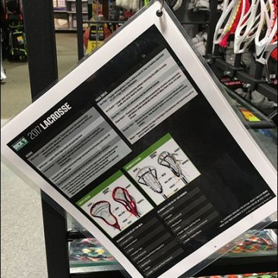 How To Buy The Right Lacrosse Stick Display Aid