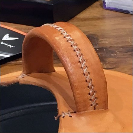 Nordstrom Antique-look Leather-crafted Prop Stitching