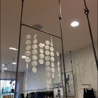 Free People Rod and Bar Ceiling Racks