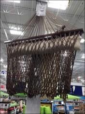 Rope Hammock Retail Employs Support Columns