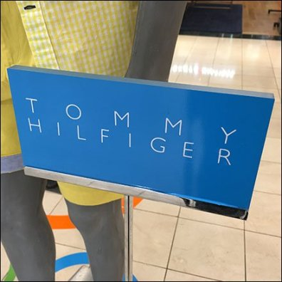 Tommy Hilfiger Summer Display Branding