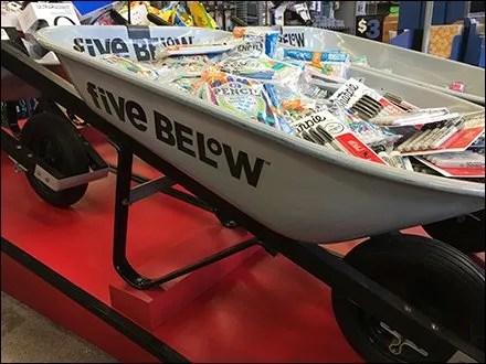 Wheelbarrow Bulk Bins Retail Lineup