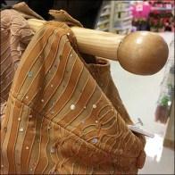 Clothes Tree Wood Peg Faceout Detail