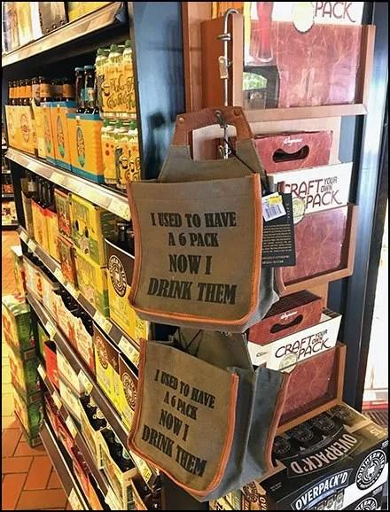 Canvas 6-Pack Strip Merchandiser Sales