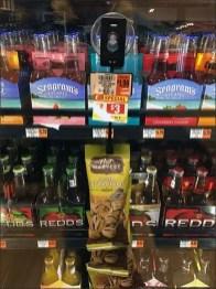 Cooler Door Beer Nut Suction Cup Strip Merchandiser 2