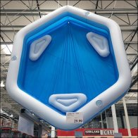Costco Ceiling Inflatable Pool Display Square1