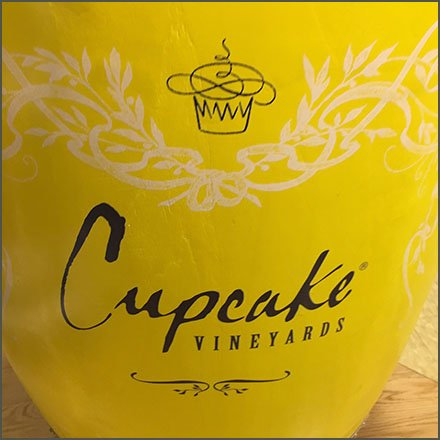 Cupcake Brand Synthetic Wine Barrel Display