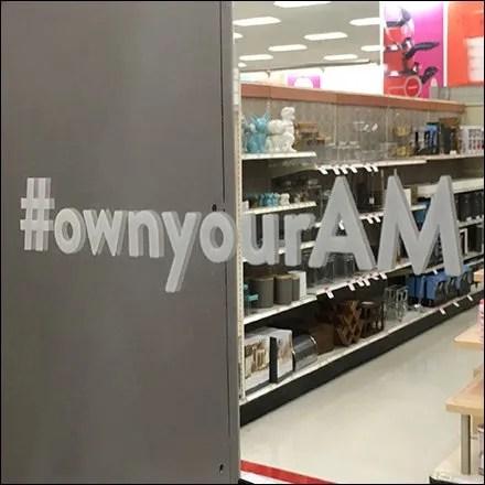 Harrys #ownyourAM Hashtag Mirror