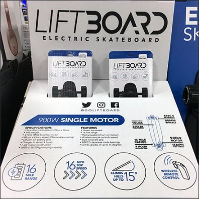 LiftBoard Electric Skateboard Pick Cards