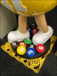 M&M's Mascot Yellow Character Revisited
