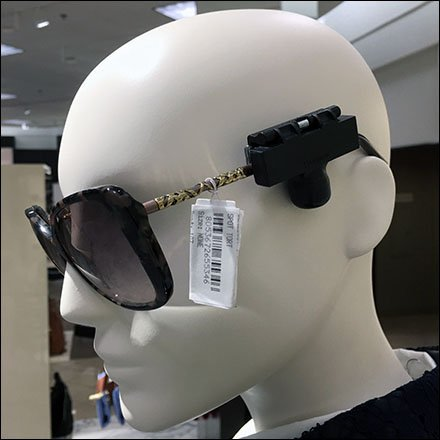 Nordstrom Sunglass Security Feature