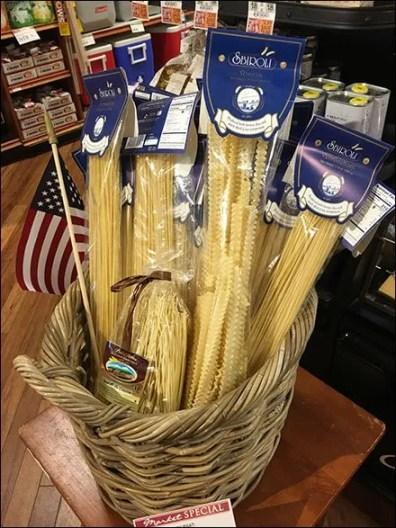 Patriotic Pasta Table-Top Merchandising