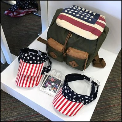 Patriotic Summerwear And Accessories Feature