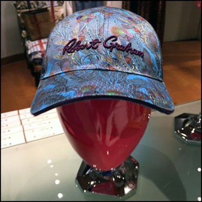 Robert Graham Baseball CapMerchandising Feature