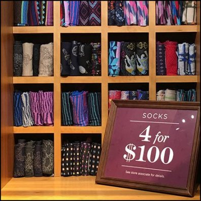 Robert Graham Sock Cubby 4 For $100 Feature